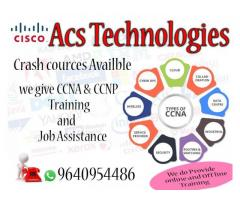 Training & Job Assistance  On CCNA  & CCNP