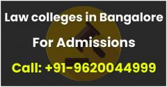 Admission In Law Colleges In Bangalore