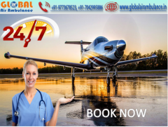 Affordable Price by Global Air Ambulance Service in Nagpur