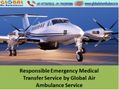 Cheap Rate by Global Air Ambulance Service in Bagdogra