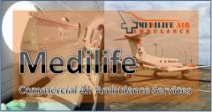 Medilife Air Ambulance in Jamshedpur More Competent
