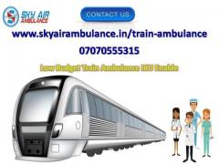 Pick Comfy and Safe Train Ambulance Service in Nagpur