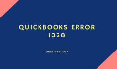 Know quick solutions to solve QuickBooks Error 1328 on (855)756-1077