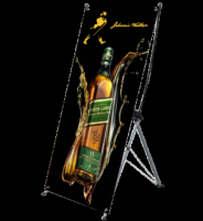 X Banner Stand | Portable Display for Events - Display Solution