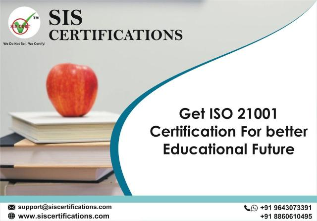 Get ISO 21001 Certification for Better Educational Future