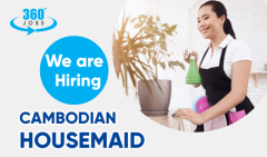 Apply as Cambodian Housemaid jobs