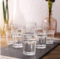 Get different pattern of barware glasses at Wooden Street