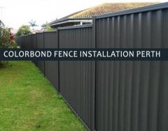 We provide the best colorbond fence installation Perth at the most affordable prices.