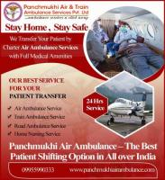 Reliable air ambulance service in pune by panchmukhi