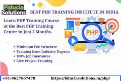 Join The Best PHP Training Center in Noida - Fiducia Solutions