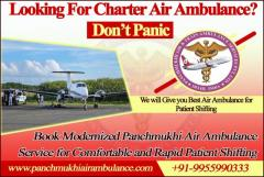 Safe and reliable air ambulance service in Dibrugarh by Panchmukhi