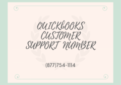 Receive top-quality service on QuickBooks Customer Support Number (877)754-1114