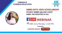 Free Live Webinar on Study MBBS with 100% Scholarship