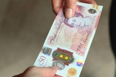 Buy Counterfeit New 50 British Pounds Banknote
