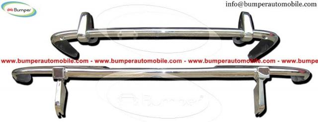Stainless steel bumper Jaguar XJ6 Series II