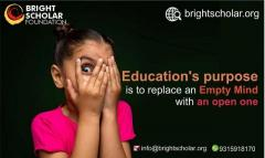 Childhood education   lack of early education   Bright Scholar Foundation