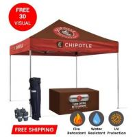 Custom 10x15 Canopy Tent for Companies & Promotional Events