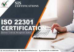 Get ISO 22301 certification   Sis Certifications
