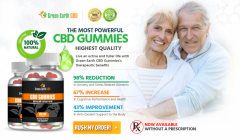 What is the method through which Green Earth CBD Gummies act on the body?