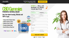 GrownMD CBD Gummies - Active Solution To Live A Stress-free Life!