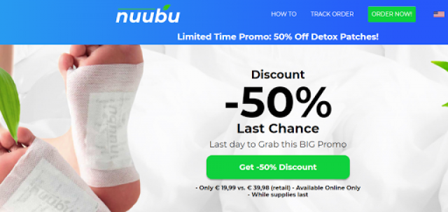 Nuubu Detox Patches Reviews - A Deep Body Cleansing Detox Patch?