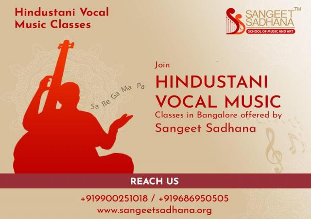 Sangeet Sadhana - Hindustani Classical Music classes and Vocal Music classes in Bangalore