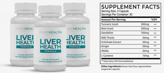 Liver Health Formula Reviews   Is It Worth To Buy?