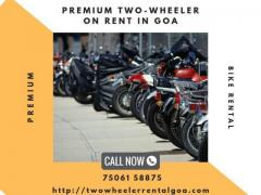 Two Wheeler Rental Goa
