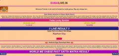 Exclusive Online Sattamatka Dubai Games for Easy Earning by Dubailive.