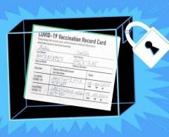 Verified  Registered Covid19 Vaccination Cards