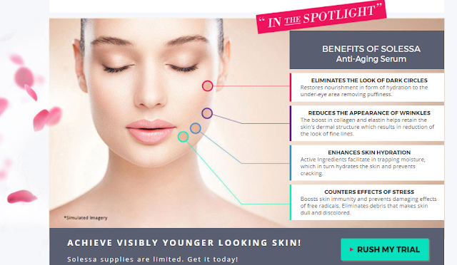 Solessa Anti Aging Serum – Easy Techniques To Add For Daily Skincare !