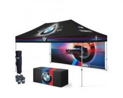 Buy Now! Top Quality 10x15 Custom Tents with Logo Printing