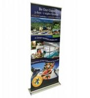 Portable Roll Up Banner Stand | Display Solution | Ottawa