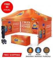 Custom Printed Tent & Outdoor Canopy Tents - Branded Canopy Tents