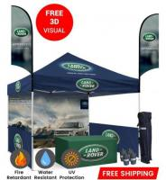 Custom Canopy Tents 10x10 For Trade Show Exhibitions - Branded Canopy Tents 