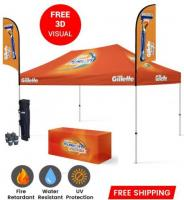 Quick & Easy Setup Custom Tents For Sale - Branded Canopy Tents