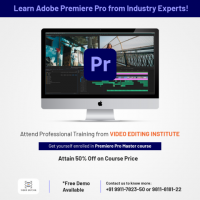 Learn Adobe Premier Pro from Industry Experts