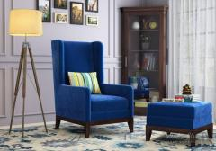 Browse your favourite modern wing chair  at Wooden Street
