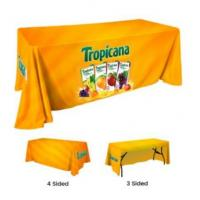 Buy! High Quality Trade Show Table Covers For Your Business Advertising