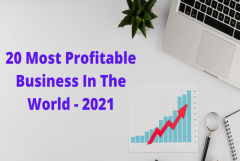 20 Most Profitable Business In The World – 2021