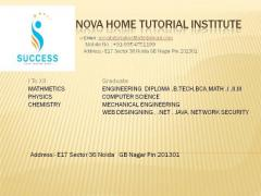 Home Tutors for class 9 to 12th call@9354751199