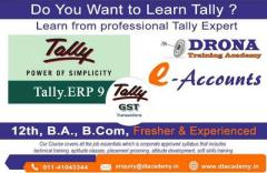 Tally ERP 9 with GST Training Course in New Delhi