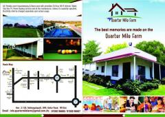 Quarter Mile Farm House For Rent To Celebrate Party's