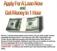 LOAN OFFER AT VERY LOW INTEREST RATE