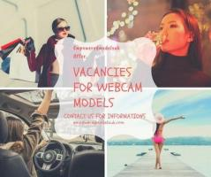 Vacancy for webcam model
