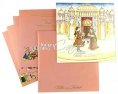 Bride-Groom Theme Wedding Cards