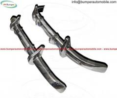 Mercedes W170s bumper kit (1935-1955) stainless steel