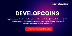 Cryptocurrency Development Company - Developcoins