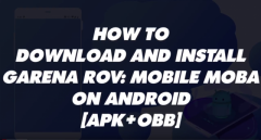 How to download Garena RoV: Mobile MOBA on Android [APK+OBB]