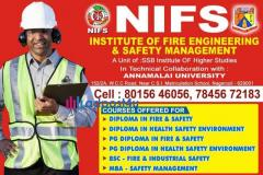 PG DIPLOMA FIRE AND SAFETY COURSE IN NAGERCOIL